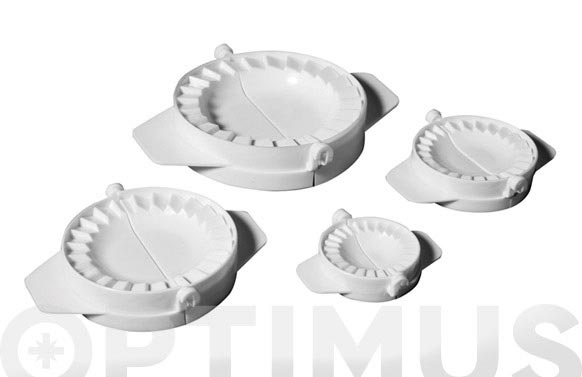 Moldes empanadillas set 4u 5-7.5-10-13c