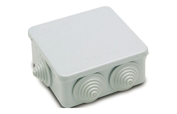 Caja estanca ip55 94x94x50 mm 8 conos