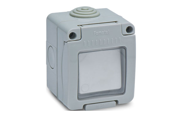 Conmutador estanco 10a ip55