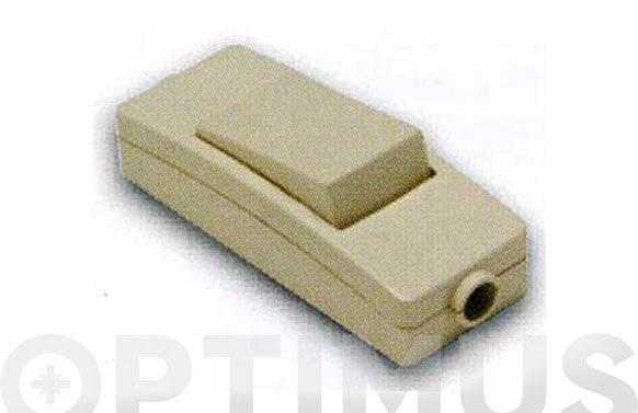 Interruptor de paso 10a-250v blanco