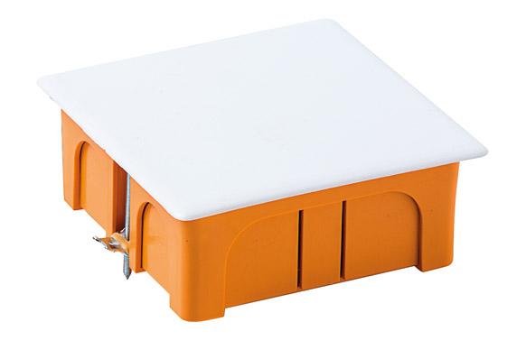 Caja empotrar pladur con tapa 100 x 100 x 45 mm