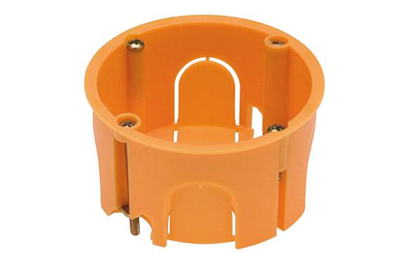 Caja empotrar pladur 67x39 redonda