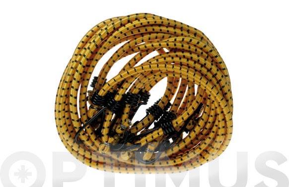 Tira goma redonda drako (2und) d.8x 80 cm