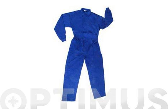 Buzo basico algodon 220 grs t 52 azulina
