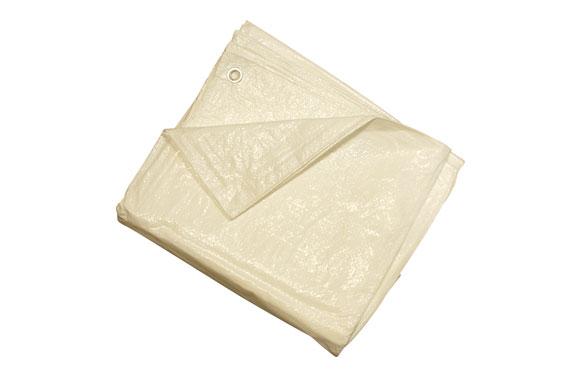 Toldo polietileno standard 90gr 2 x 3 m blanco