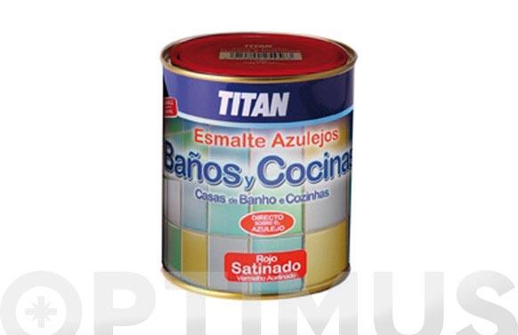 Esmalte azulejos baño y cocina 750 ml blanco