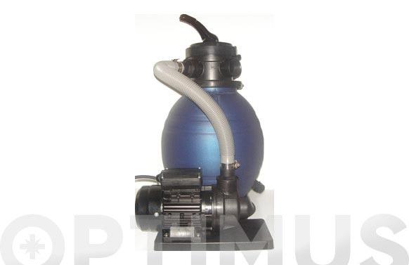 Filtro piscina monobloc con bomba d.600-1,5 hp