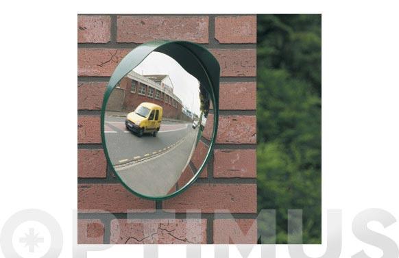 Espejo de salida convexo verde ø 40 cm