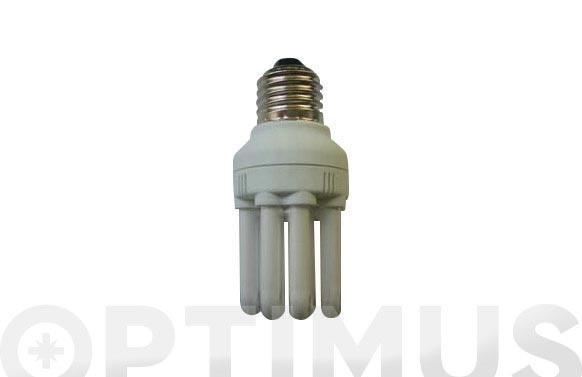 Bombilla bajo consumo micro 6 tubos 15w e-14 827