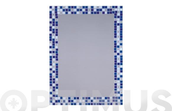 Espejo serigrfiado mosaico lux-21 b-902 75 x 55 cm