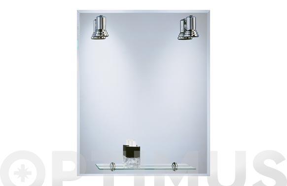 Espejo luminoso lux-10 b-804 75 x 60 cm
