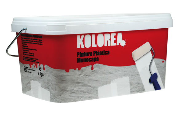 Pintura plastica monocapa blanca 5 kg interior