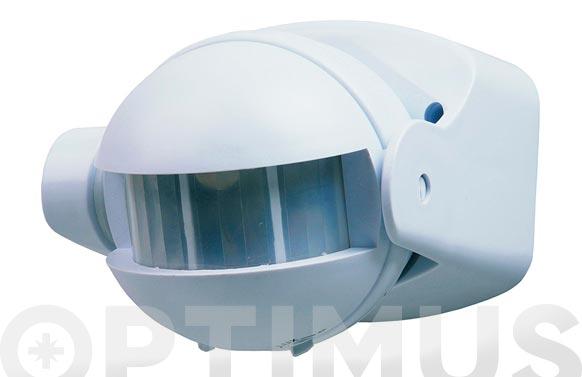 Detector de presencia blanco