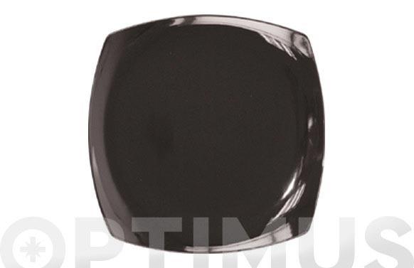 Bandeja porcelana color 30cm lotto-negra