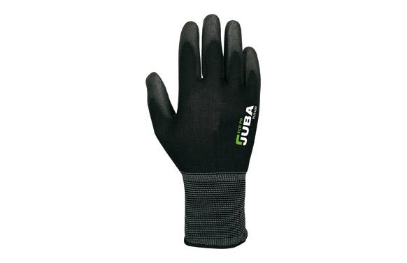 Guante nylon eco-pu t 8 negro