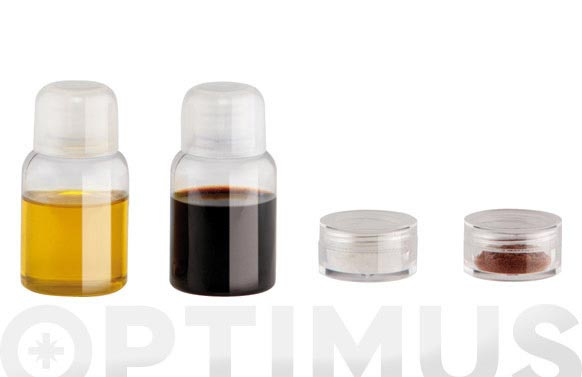 Aceitera vinagrera sal miniset bolsa transparente