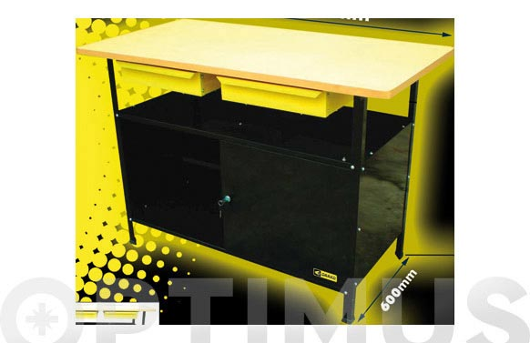 Banco trabajo k-bat-2 120 x 60 x 83 cm