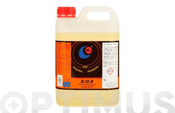 Desengrasante concentrado para hidrolimpidoras neutro, biodegradable, 5 litros