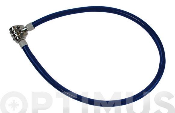 Antirrobo cable 60 cm combinacion