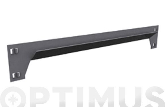 Larguero sclick gris oscuro 400 mm