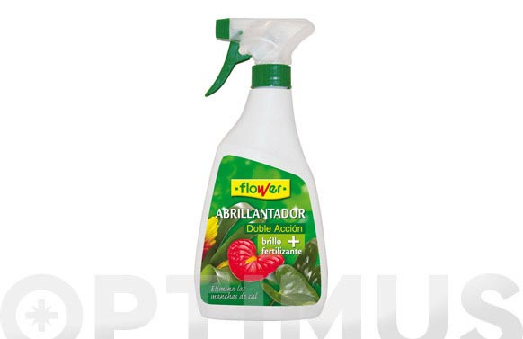Abrillantador + abono planta natural 500 ml pistola