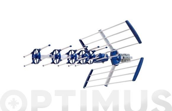 Antena terrestre exterior tdt 30 elementos anti 4g