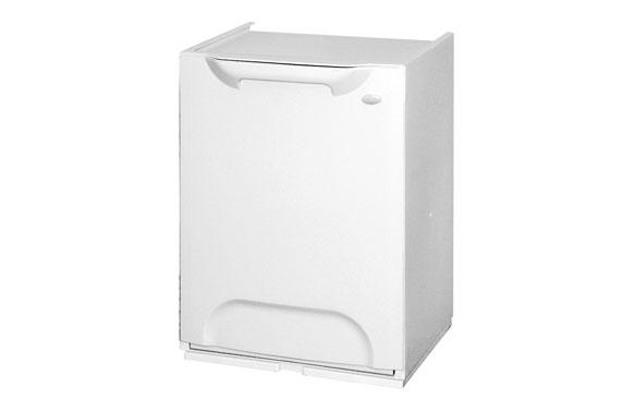 Contenedor basura selectivo blanco-34x29x47cm