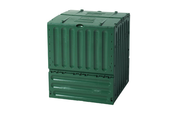 Compostador eco king 600 l 95 x 80 x 80 cm