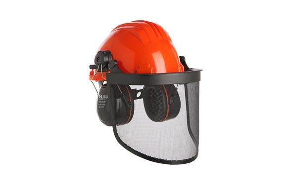 Casco forestal 437 complet protección auditiva con pantalla