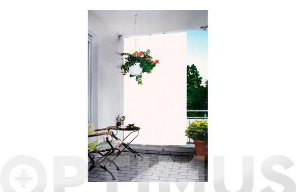 Toldo vertical para balcon liso 2,3x1,4m-blanco