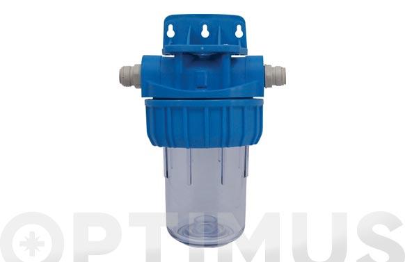 """Vaso porta filtro drip&f 5"""" con accesorios"""