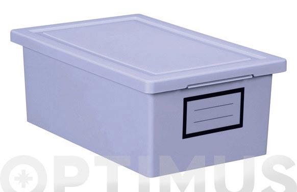 Caja ordenacion premier box 19x29x11-lila