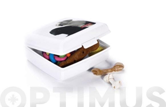 """Contenedor snap box """"l"""" gatos 02273-p73-01"""