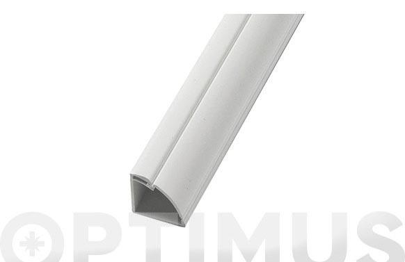 Canaleta esquinera 2mt 22 x 22 blanco