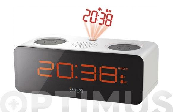 Radio reloj proyector oregon scientific