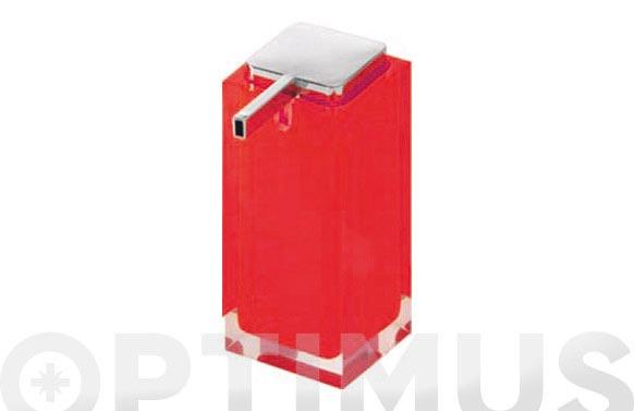 Dosificador jabon diseño rainbow ra80-rojo