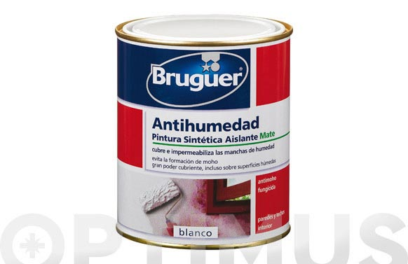 Pintura antihumedad 7580 ml blanco