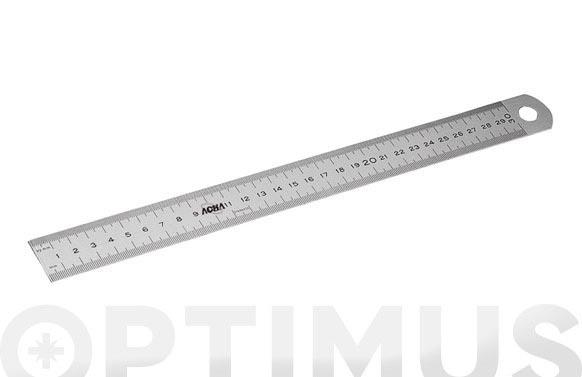 Regla semirigida inox 300 mm