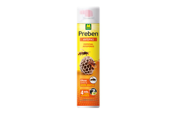 Insecticida preben avisperos larga distancia 4 mt 750 ml