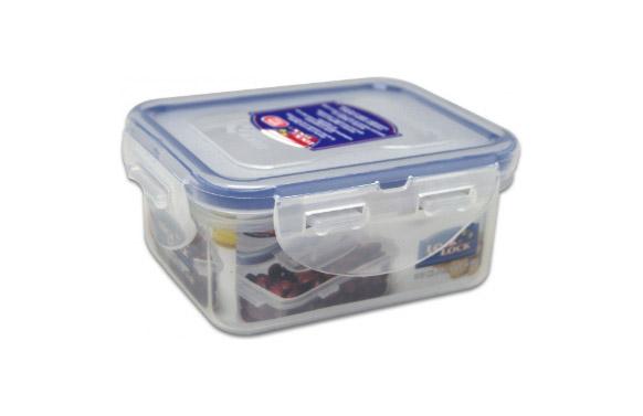 Contenedor alimentos rectangular 180 ml