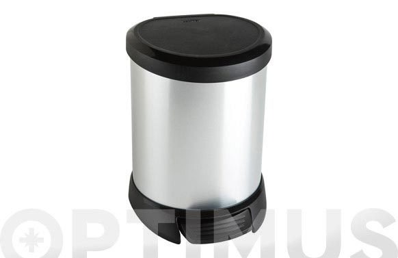 Cubo pedal decobin 5l-metal