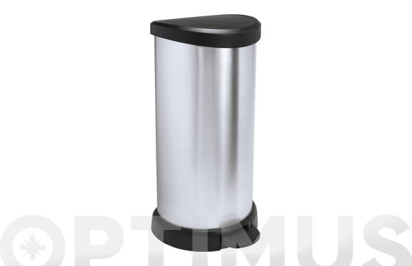 Cubo pedal metal bin curver metal 40 l