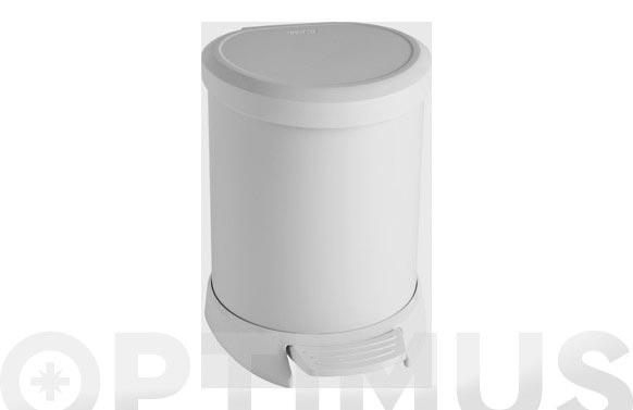 Cubo pedal decobin 5l-blanco