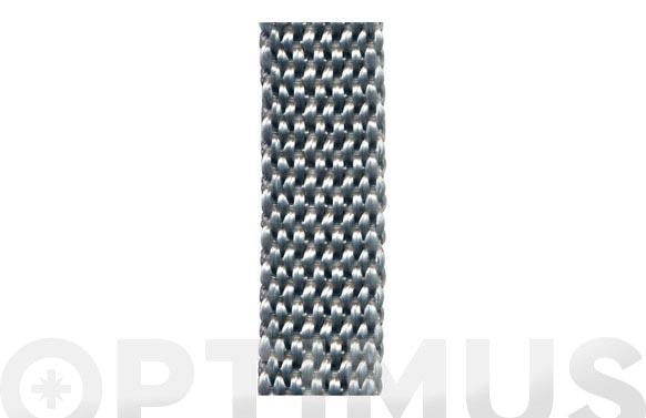 Cinta persiana gris 5 m x 14 mm