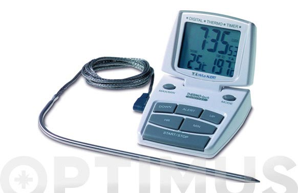 Termometro avisador con sonda 141500