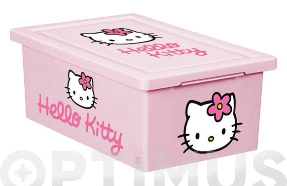 Caja multiusos hello kitty 18,5x29x11 cm