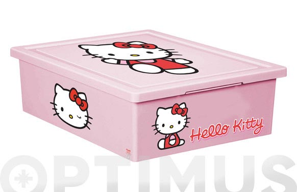 Caja multiusos dec.hello kitty 29x37x11