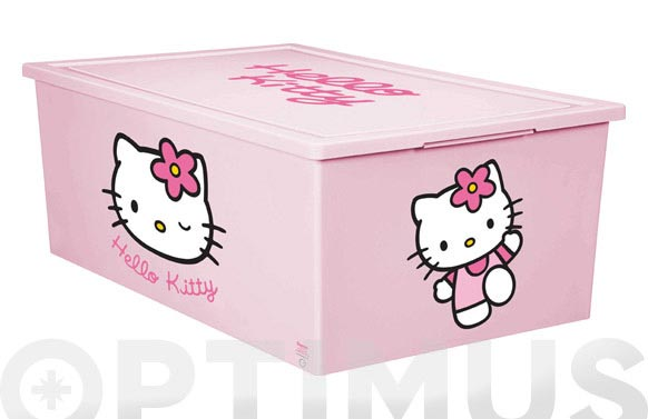 Caja multiusos dec.hello kitty 37x58x22