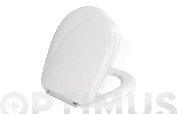 Tapa wc caida neva softclose blanca 36,2 cm x 41,5 min - 42,5 max