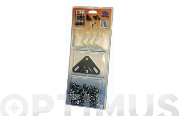Accesorios estanteria metalica clip